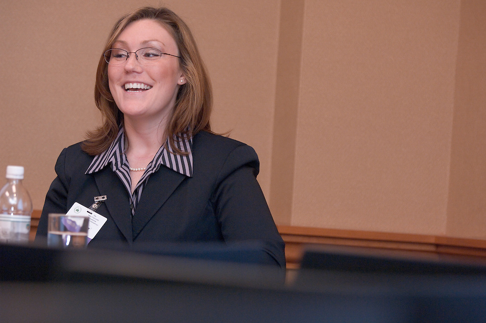 18217Ohio Women Making a Difference Conference: Sponsored by The Ohio University Foundation's Women in Philanthropy initiative...Careers in Law: Panel..Megan Kelley, Attorney, Union County Probate & Juvenile Division