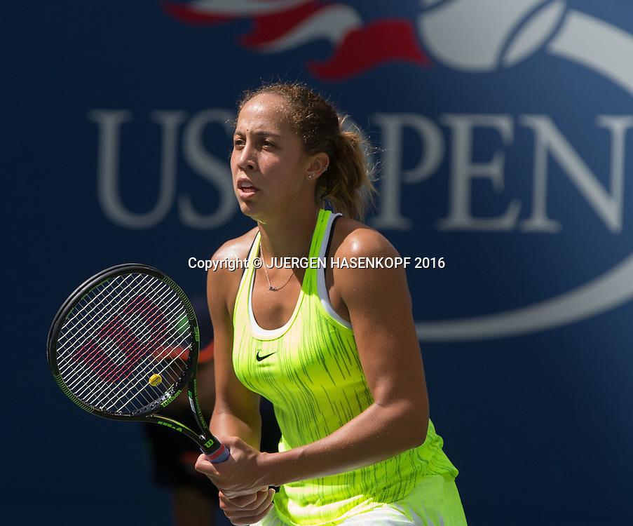 MADISON KEYS (USA)<br /> <br /> Tennis - US Open 2016 - Grand Slam ITF / ATP / WTA -  USTA Billie Jean King National Tennis Center - New York - New York - USA  - 2 September 2016.