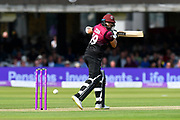 Azhar Ali of Somerset batting during the Royal London 1 Day Cup Final match between Somerset County Cricket Club and Hampshire County Cricket Club at Lord's Cricket Ground, St John's Wood, United Kingdom on 25 May 2019.