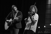 Sam Bush sits in with Rich Robinson during his solo show at City Winery in Nashville, TN. 8-11-15