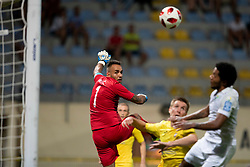 Dejan Milic of Domzale during football match between NK Domzale and NK Rudar in Round #2 of Prva liga Telekom Slovenije 2018/19, on April 29, 2018 in Sports Park Domzale, Domzale, Slovenia. Photo by Urban Urbanc / Sportida