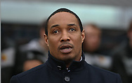 Picture by David Horn/Focus Images Ltd +44 7545 970036.09/03/2013.Paul Ince , Manager of Blackpool looks on during the npower Championship match at Vicarage Road, Watford.
