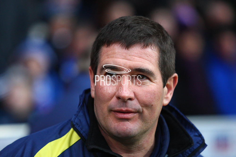 Burton Albion's manager Nigel Clough during the EFL Sky Bet Championship match between Ipswich Town and Burton Albion at Portman Road, Ipswich, England on 10 February 2018. Picture by John Potts.