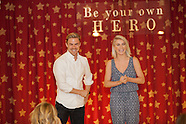 Derek and Julianne Hough visit Forever Young Foundation