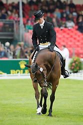 Crisp Tom, (GBR), Coolys Luxury<br /> Dressage <br /> Mitsubishi Motors Badminton Horse Trials - Badminton 2015<br /> © Hippo Foto - Jon Stroud<br /> 08/05/15