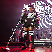 Janelle Monae performs at the 2016 Summer Spirit Festival at Merriweather Post Pavilion.