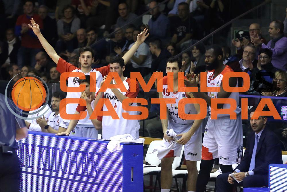 Grissin Bon Reggio Emilia<br /> Grissin Bon Reggio Emilia - Openjobmetis Pallacanestro Varese<br /> LegaBasket Serie A 2017/2018<br /> Reggio Emilia, 16/12/2017<br /> Foto Ciamillo-Castoria