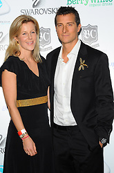 Bear Grylls & wife at The Global Angel Awards in  London on Friday, 2nd December 2011.Photo by: i-Images