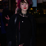 Gaia Romilly Wise Arrive at Good Girl for the VAULT Festival press night at Trafalgar Studios on 6th March 2018, London, UK.