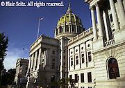 PA Capitol, Harrisburg, PA, Architect Joseph Huston, 3rd St. StepsPA Capitol, Harrisburg, PA, Architect Joseph Huston,