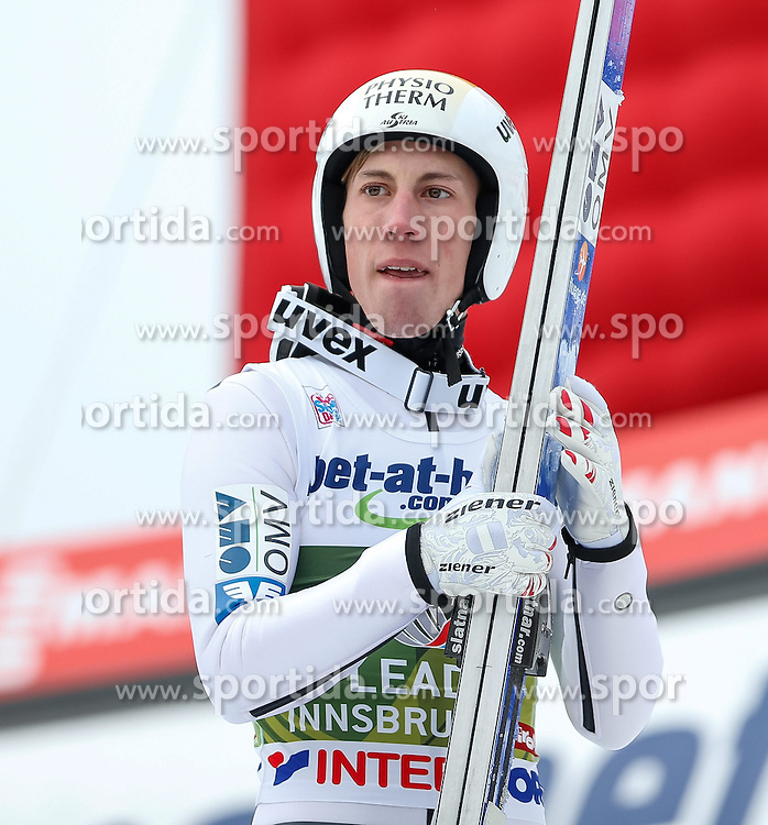 04.01.2014, Bergisel Schanze, Innsbruck, AUT, FIS Ski Sprung Weltcup, 62. Vierschanzentournee, Bewerb, im Bild Thomas Diethart (AUT) // Thomas Diethart of Austria during Competition of 62nd Four Hills Tournament of FIS Ski Jumping World Cup at the Bergisel Schanze, Innsbruck, Austria on 2014/01/04. EXPA Pictures © 2014, PhotoCredit: EXPA/ Peter Rinderer
