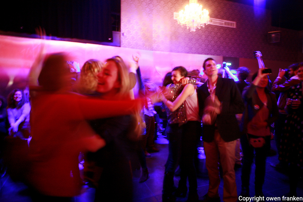 Obama Re-election Party- Paris - Young Democrats Abroad