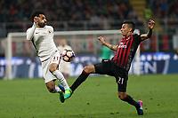 08.05.2017 - Milano - Serie A 35a giornata - Milan-Roma - Nella foto:  Mohamed Salah  - Roma Calcio