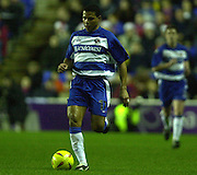 20/12/2003 - Photo  Peter Spurrier.2003_04_Nationwide_Div_1.Reading_FC_vs_Crystal_Palace_FC.John Salako
