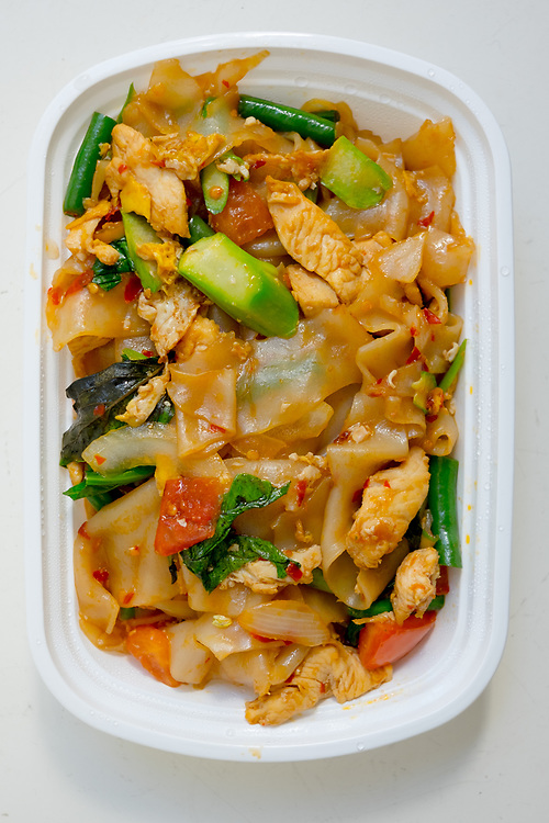 Chicken Pad Kee Mao from Mondayoff ($10.83) - WFH, sickish
