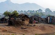 Village at Anosy, Toliara province, Madagascar.