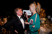 JASPER CONRAN; TAMARA BECKWITH, The Ormeley dinner in aid of the Ecology Trust and the Aspinall Foundation. Ormeley Lodge. Richmond. London. 29 April 2009