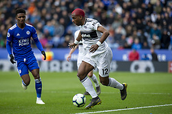 March 9, 2019 - Leicester, Leicestershire, United Kingdom - Ryan Babel of Fulham FC on the ball during the Premier League match between Leicester City and Fulham at the King Power Stadium, Leicester on Saturday 9th March 2019. (Credit Image: © Mi News/NurPhoto via ZUMA Press)