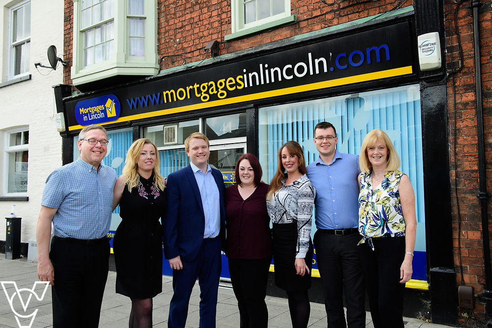 Mortgages in Lincoln team photograph.<br /> <br /> Picture: Chris Vaughan Photography<br /> Date: June 1, 2017
