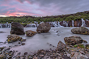 Taken in west-Iceland Hraunfossar