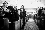 Family and friends at Medo's funeral. (Medo's mother front left). Nag Hamadi, Egypt.