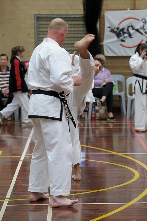 First Tae Kwan Do gradings, Perth, September 2017