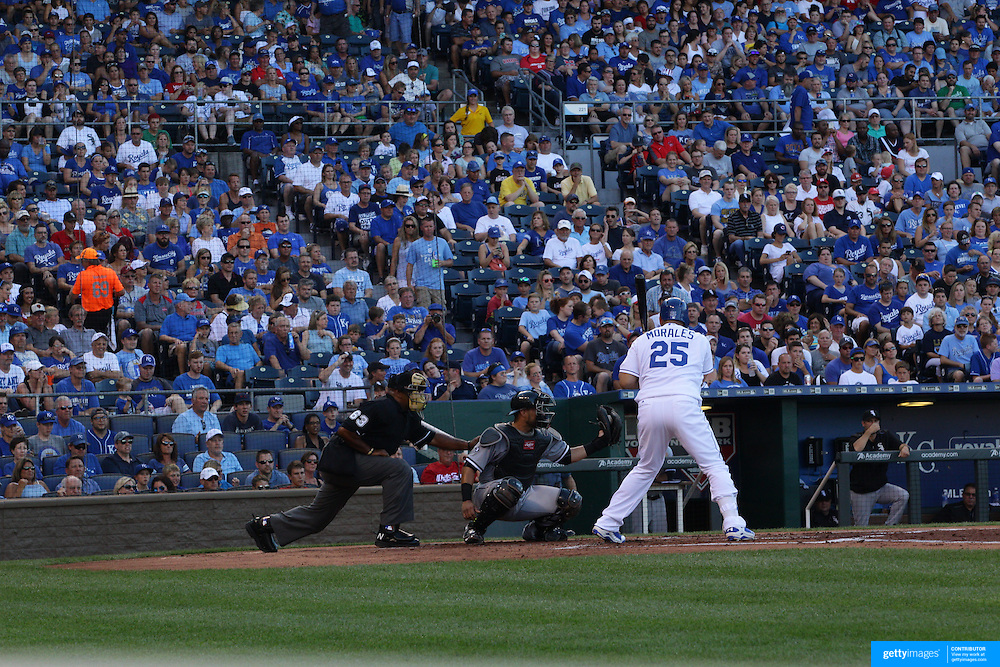 Kansas City Royals Vs Chicago White Sox,  Kauffman Stadium, Kansas, Missouri, USA. 8th August 2015. Photo Tim Clayton