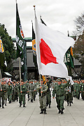 "Uyoku (Japanese nationalists) at the Yasukuni shrine in Tokyo, on 11/Feb./05 ""National Foundation Day"" (Foundation Day, to all intents and purposes, is a restoration of Kigensetsu"