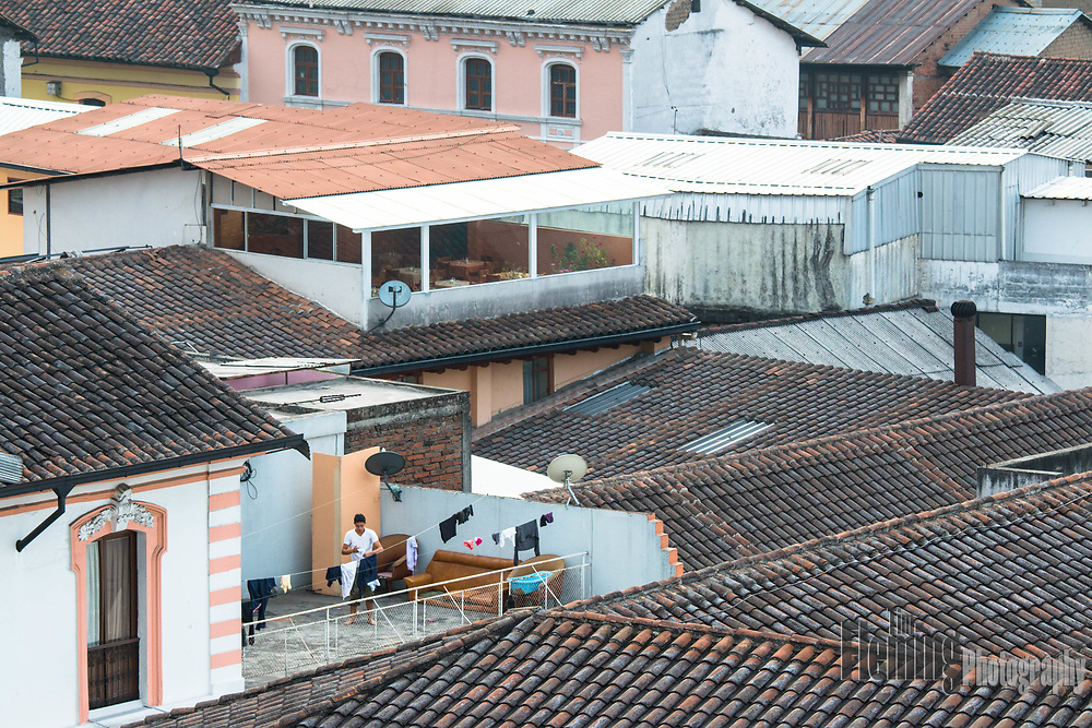 Rooftops in Old Town, Quito, Ecuador