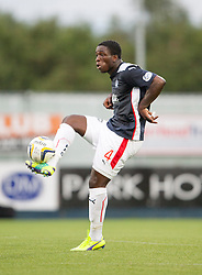 Falkirk's Ollie Durojaiye. Falkirk's Ollie Durojaiye. Falkirk 0 v 2 Rangers, Scottish Championship game played 15/8/2014 at The Falkirk Stadium.