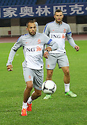 BEIJING, CHINA - JUNE 09: (CHINA OUT) <br /> <br /> Dutch national football team players attend a training session at Olympic sports centre on June 9, 2013 in Beijing, China. ©Exclusivepix