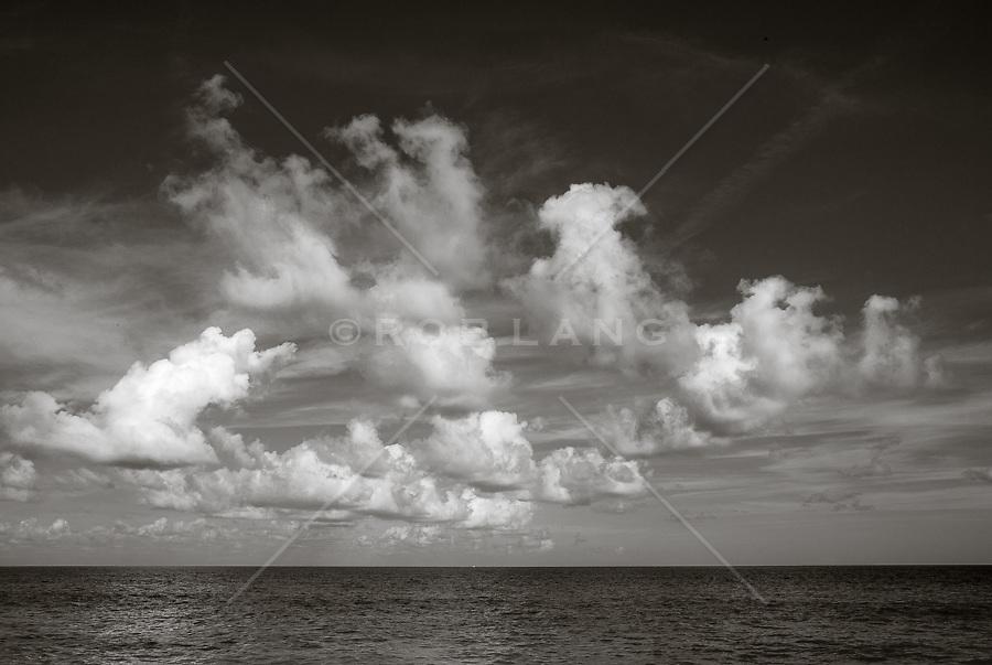 clouds over The Atlantic Ocean in Fort Lauderdale, Florida