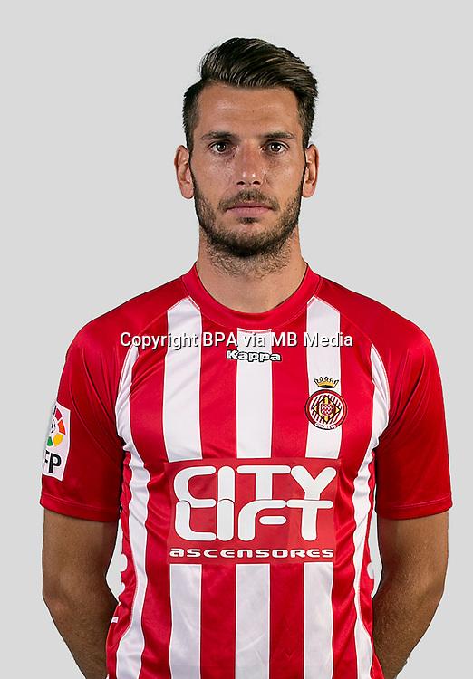 Spain - La Liga Adelante 2015-2016 / <br /> ( Girona F.C. ) - <br /> Pedro Alcala Guirado