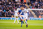 Crystal Palace #18 James McArthur during the Premier League match between Leicester City and Crystal Palace at the King Power Stadium, Leicester, England on 16 December 2017. Photo by Sebastian Frej.