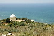 Israel, Haifa, Stella Maris Carmelite Monastery, The small chapel on mount Carmel overlooking the Mediterranean Sea