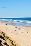 Marconi Beach Wellfleet Cape Cod on a sunny day.