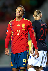 September 11, 2018 - Elche, Spain - Rodrigo Moreno of Spain  during the UEFA Nations League football match between Spain and Croatia at Martinez Valero Stadium in Elche, Spain on September 11, 2018. (Credit Image: © Jose Breton/NurPhoto/ZUMA Press)
