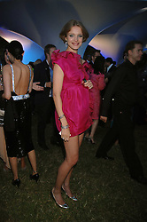 NATALIA VODIANOVA at the annual Serpentine Gallery Summer Party in association with Swarovski held at the gallery, Kensington Gardens, London on 11th July 2007.<br /><br />NON EXCLUSIVE - WORLD RIGHTS