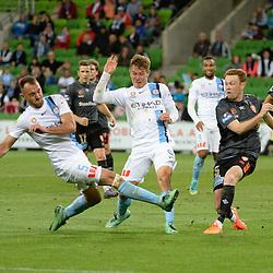 Melbourne City v Brisbane Roar    AFC Champions League   Melbourne 18 March 2016.