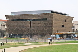 THEMENBILD - National Museum of African American History and Culture widmet sich der Geschichte der Afroamerikaner. Reisebericht, aufgenommen am 12. Jannuar 2016 in Washington D.C. // National Museum of African American History and Culture is dedicated to African-American History. Travelogue, Recorded January 12, 2016 in Washington DC. EXPA Pictures © 2016, PhotoCredit: EXPA/ Eibner-Pressefoto/ Hundt<br /> <br /> *****ATTENTION - OUT of GER*****