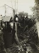 Pad op Oost-Java, vermoedelijk tussen Soerabaja en Malang