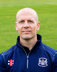 Strength and Conditioning Coach for Gloucestershire CCC Chris Bodman - Mandatory by-line: Robbie Stephenson/JMP - 04/04/2016 - CRICKET - Bristol County Ground - Bristol, United Kingdom - Gloucestershire  - Gloucestershire Media Day