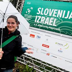20140405: SLO, Tennis - Davis Cup, Slovenia vs Israel, Day 2