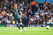 Swansea City defender Joe Rodon (4) passes the ball during the EFL Sky Bet Championship match between Leeds United and Swansea City at Elland Road, Leeds, England on 31 August 2019.