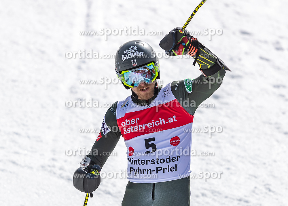 02.03.2020, Hannes Trinkl Weltcupstrecke, Hinterstoder, AUT, FIS Weltcup Ski Alpin, Riesenslalom, Herren, 2. Lauf, im Bild Tommy Ford (USA) // Tommy Ford of the USA reacts after his 2nd run of men's Giant Slalom of FIS ski alpine world cup at the Hannes Trinkl Weltcupstrecke in Hinterstoder, Austria on 2020/03/02. EXPA Pictures © 2020, PhotoCredit: EXPA/ Johann Groder