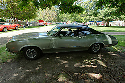 06 August 2016:  1972 Oldsmobile Cutlass<br /> Owners: Tom & Sandie Hilton<br /> <br /> Displayed at the McLean County Antique Automobile Association Car show at David Davis Mansion in Bloomington Illinois