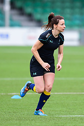 Alexia McGahan of Worcester Valkyries during the pre match warm up - Mandatory by-line: Craig Thomas/JMP - 30/09/2017 - RUGBY - Sixways Stadium - Worcester, England - Worcester Valkyries v Saracens Women - Tyrrells Premier 15s