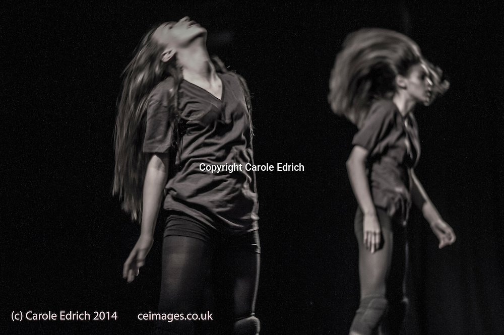 One Youth Dance performance of Uncovered, at Platform Hub, December 20 2014