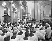22/06/1961<br /> 06/22/1961<br /> 22 June 1961<br /> Patrician Year Celebrations: Papal Legate Cardinal Grégoire-Pierre Agagianian visits Clonliffe College.