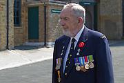Dieppe Raid 70th Anniversary Memorial Service Al Cunningham, National President of the Canadian Veterans' Association, UK Brighton Branch